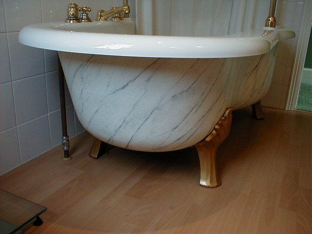 Effects, Marbeled bath